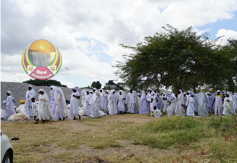 Johanne Masowe church leaders gather congregants to tell them to stop gathering
