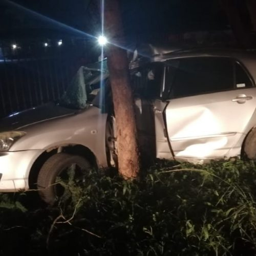 Dynamos captain Jaure escapes horror car crash