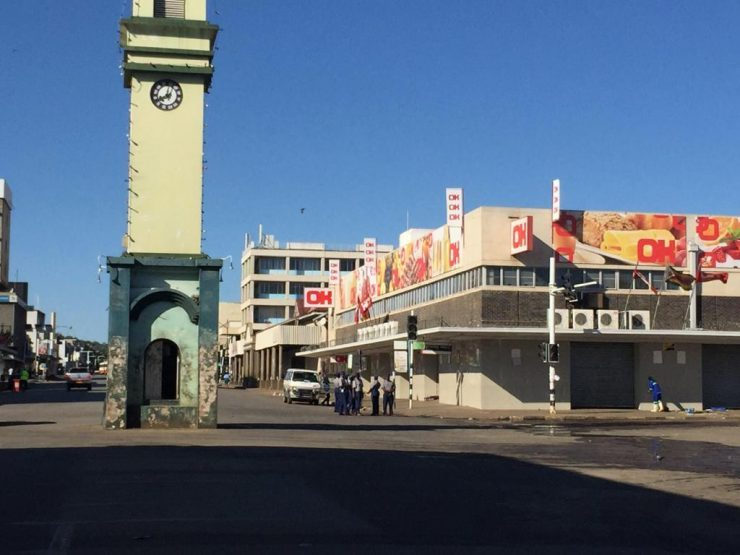 ROUND-UP: Zim Cities, Towns COVID-19 Lockdown