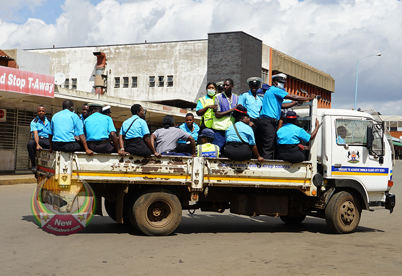 Harare City Council in lockdown demolition of vending stalls