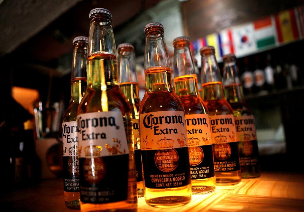 Corona beer brewer halts production over virus
