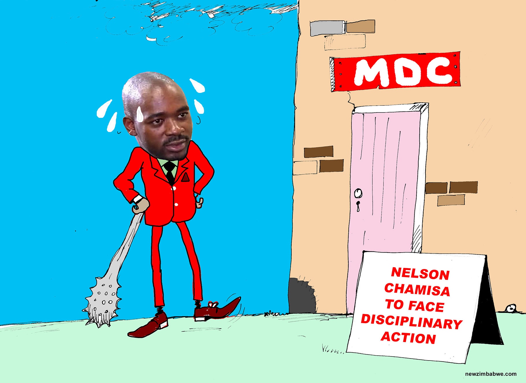 Chamisa to face disciplinary action