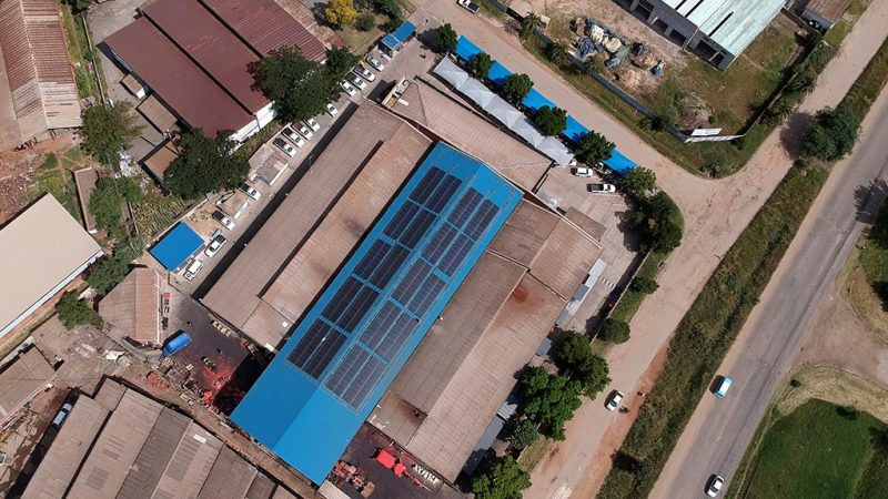 Renewable Power At Sandvik Zimbabwe Cuts Climate Impact