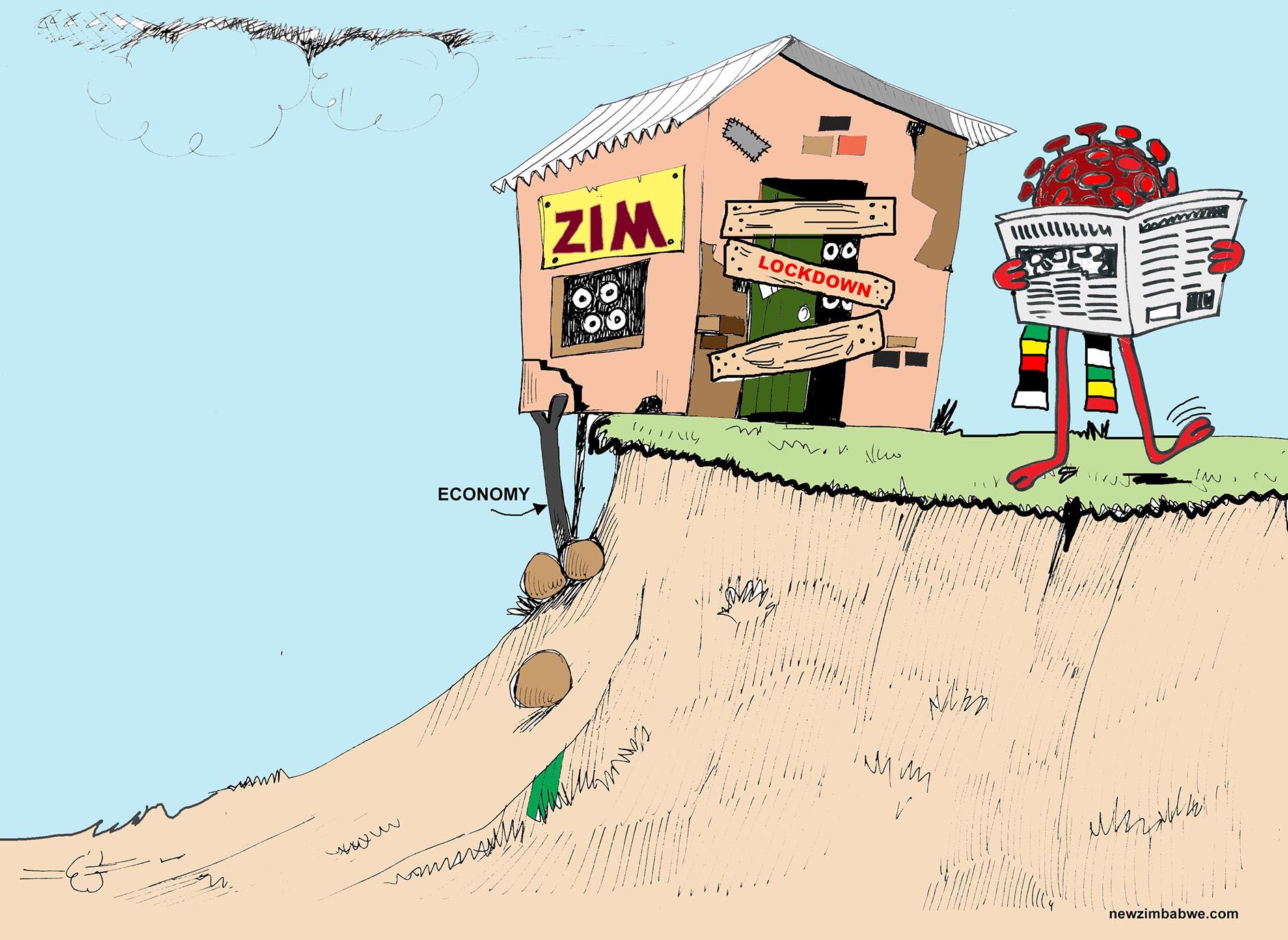 Zim economy, lockdown and covid-19