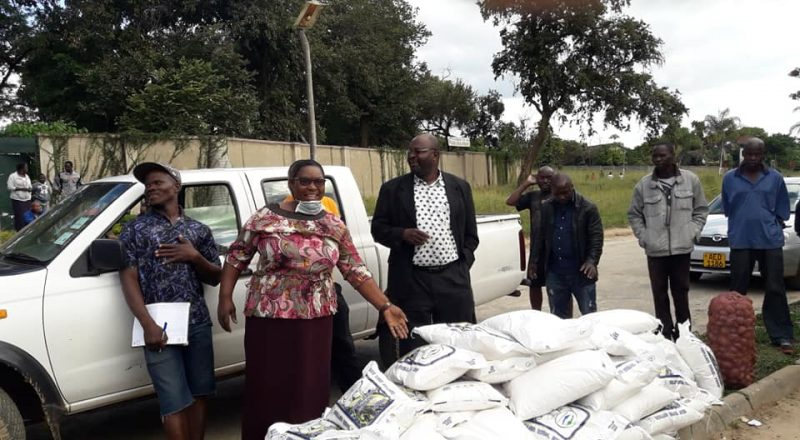 MDC Mutasa South MP Arrested For Donating Mealie-Meal