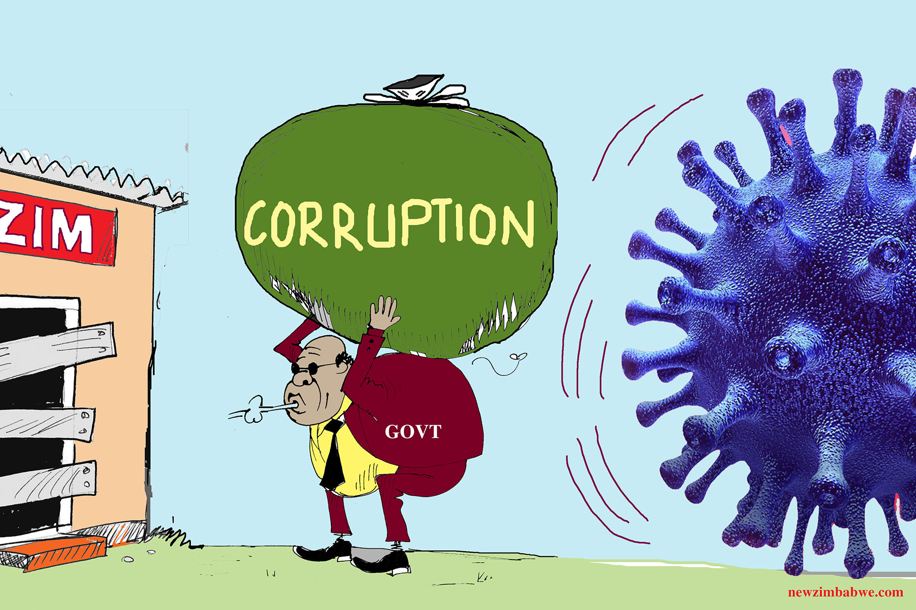 Of lockdown, corruption and COvid-19