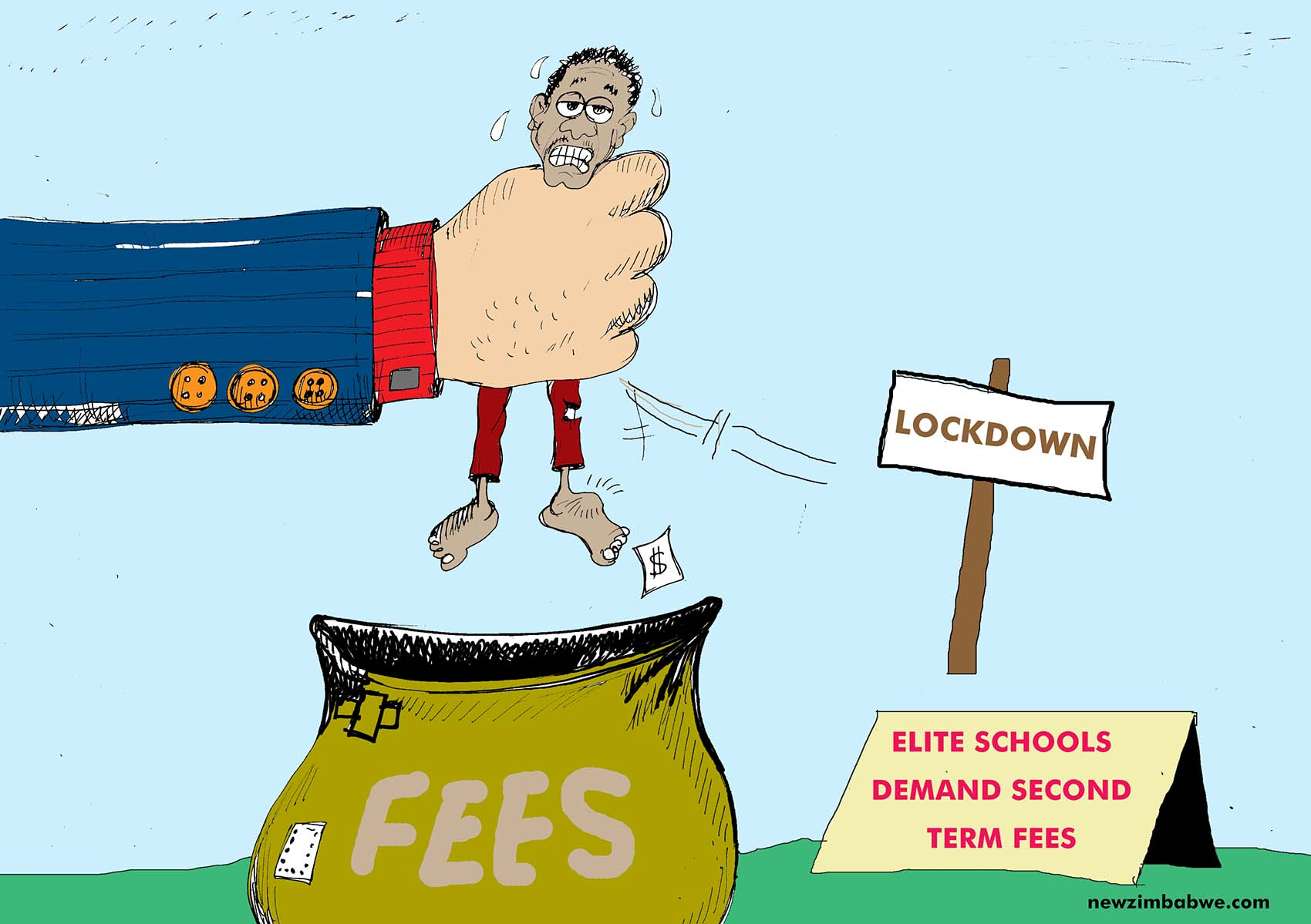Schools demand second term fees