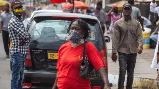 Ghana extends ban on gatherings as infections rise