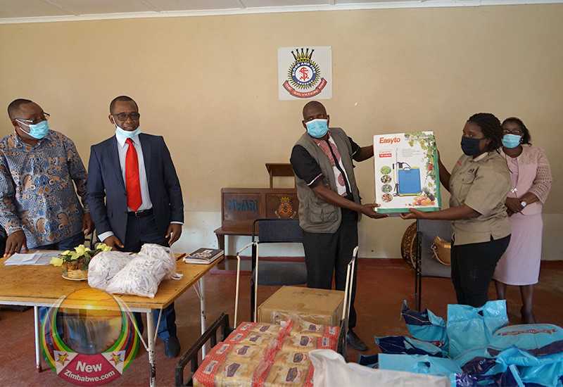 Musarara Urges Govt To Maintain Health Centres As He Donates PPEs Worth ZW$500 000