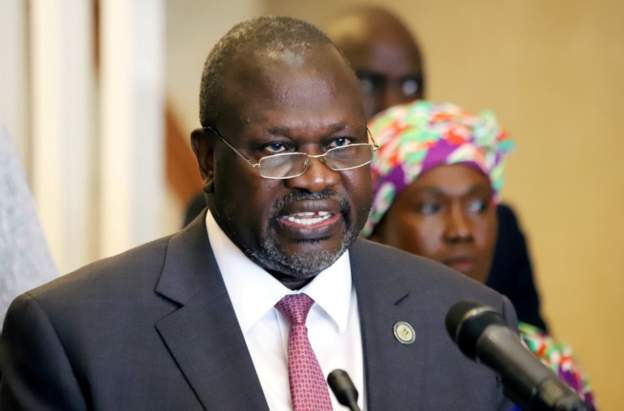 South Sudan's vice-president tests positive