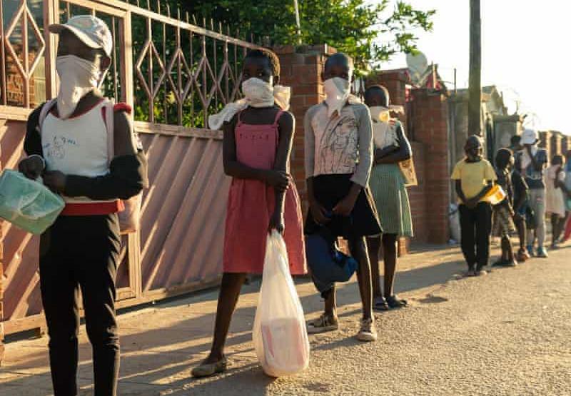 Family Kitchen Fighting Lockdown Hunger In Zimbabwe