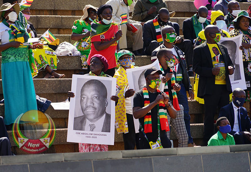 IN PICTURES: Absolom Sikhosana Burial At The National Heroes' Acre