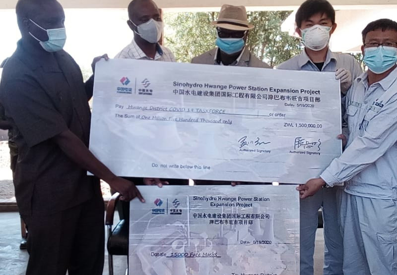 Chinese Company Donates $1.5M, 15 000 Masks For Mat North Covid-19 Fight