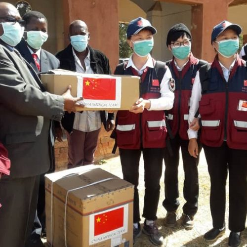 Chinese Medical Experts Visit 3 Provinces, Donate Supplies