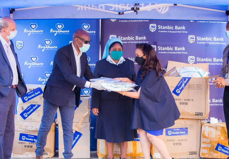 STANBIC In Countrywide Distribution Of US$200 000 Hospital Equipment
