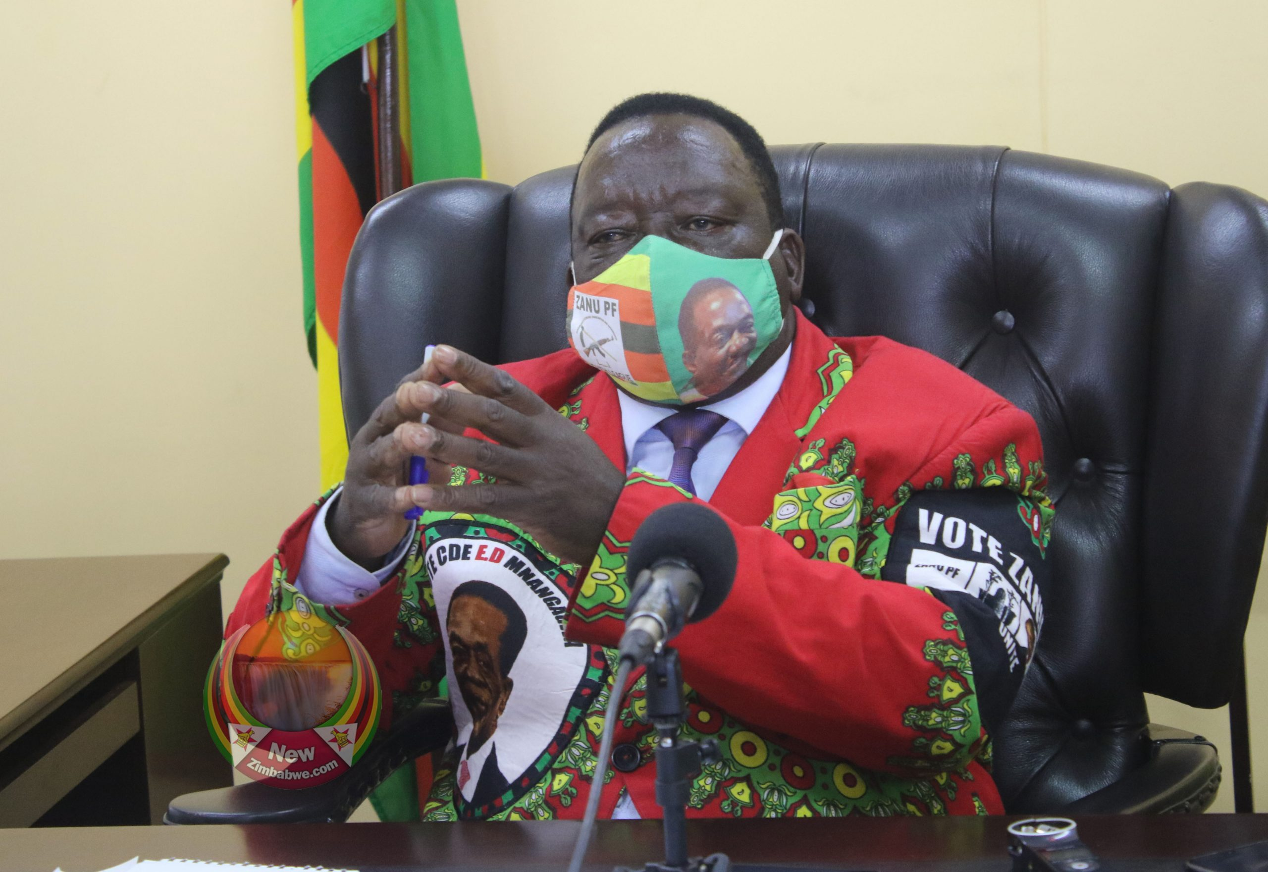 Matemadanda Left With Egg On Face As Zanu PF Disowns George Floyd Demo