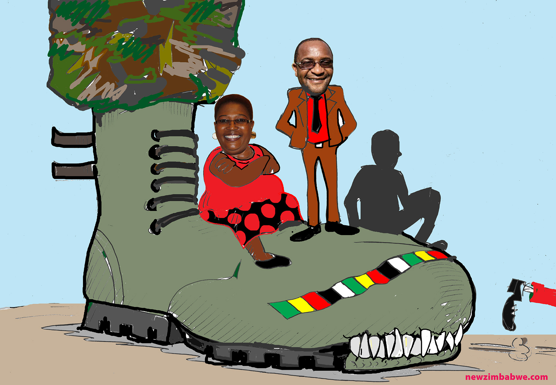 Of army,ZanuPF and MDC-T