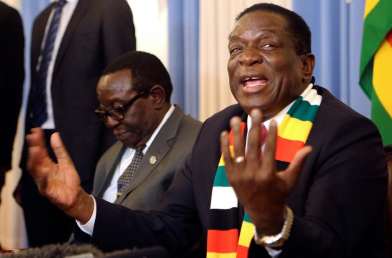 Zim Under Cyber Attack From Regime Change Agents – Mnangagwa