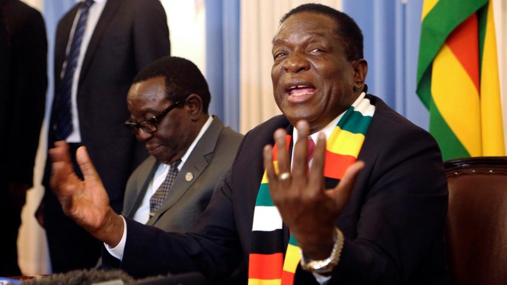 Mnangagwa Blames MDC Dominated Urban Councils For Housing Chaos