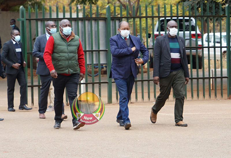 IN PICTURES: Graft Accused Health Minister Obadiah Moyo In Court