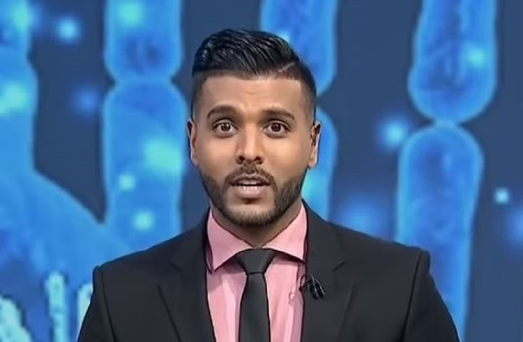 eNCA news anchor Shahan Ramkissoon tests positive for Covid-19