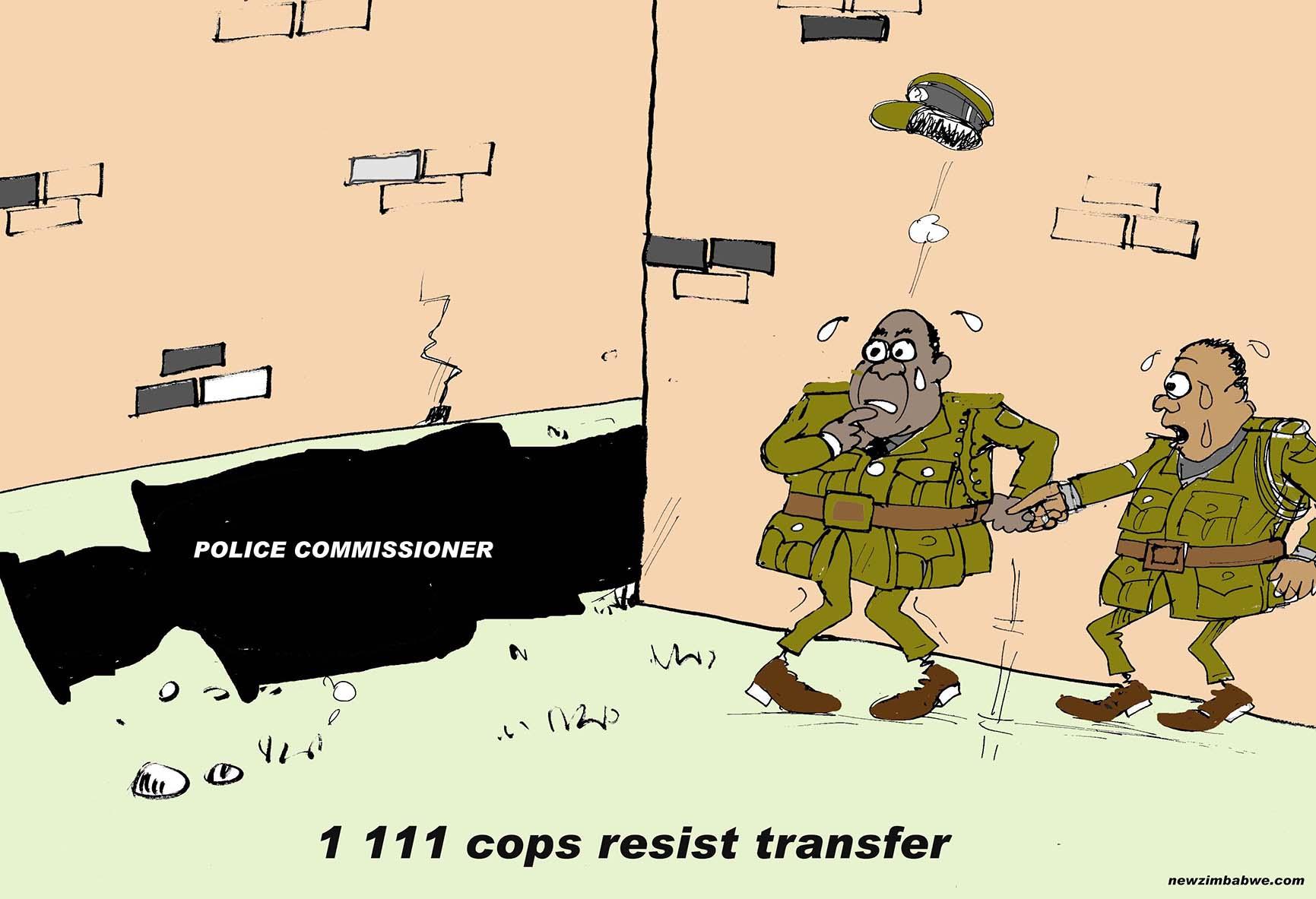 Police resist transfer