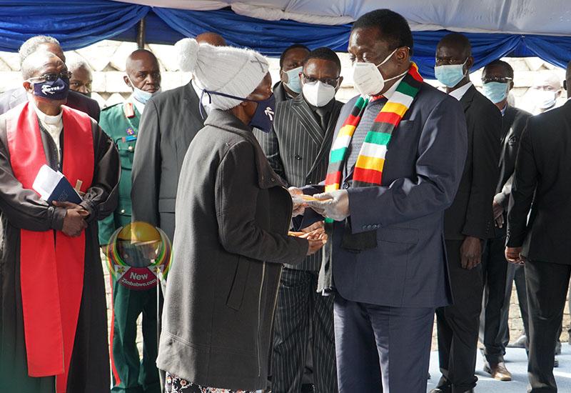 IN PICTURES: Burial of national hero Stanley Nleya