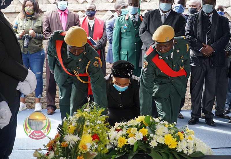 IN PICTURES: Recent burial of national hero Stanley Nleya
