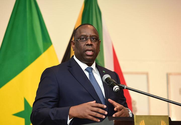 Senegal president Macky Sall self-quarantines