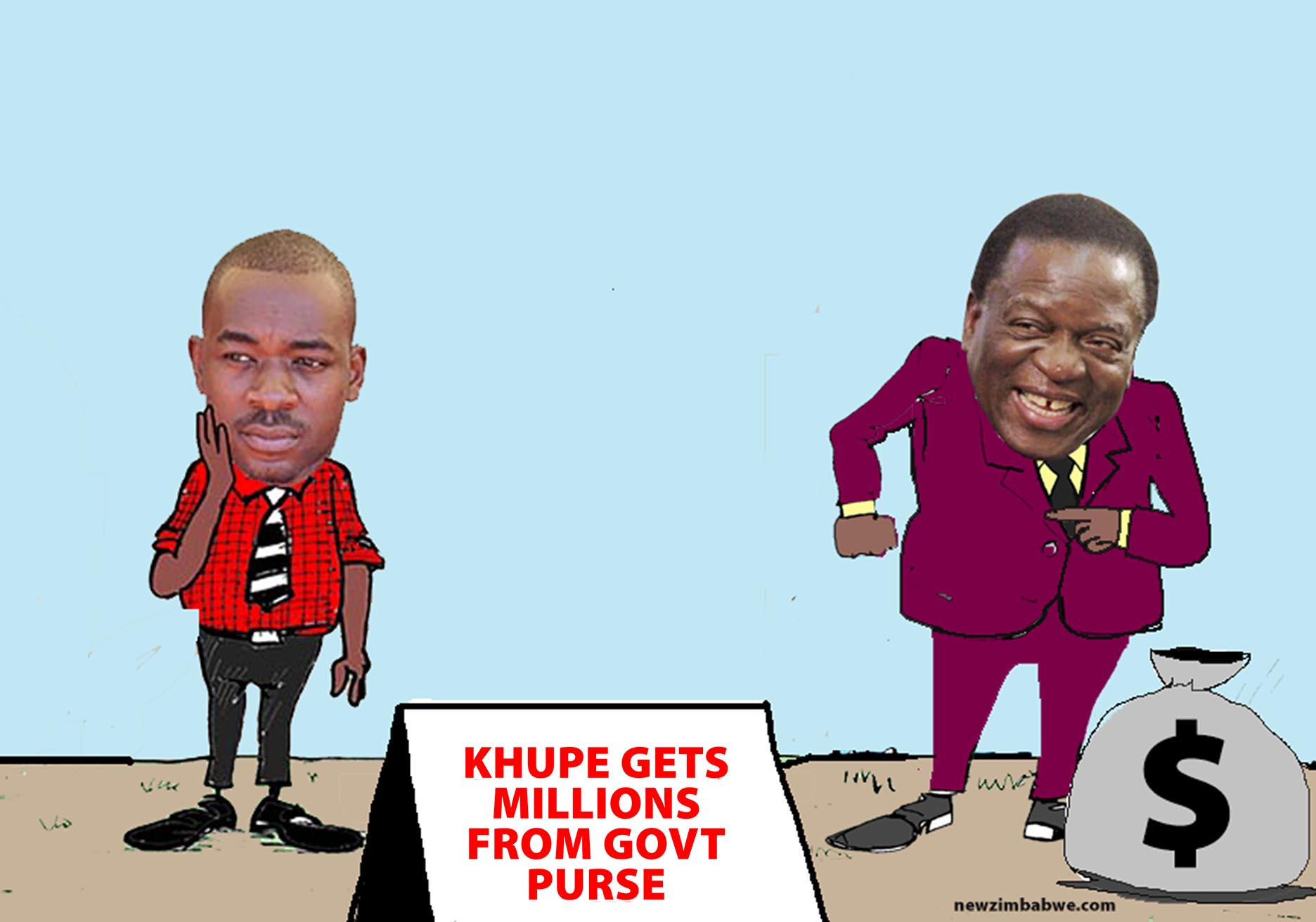 Khupe gets millions