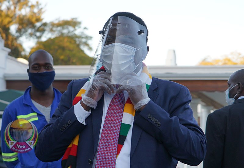 Mnangagwa admits Zim health system too frail to fight Covid-19