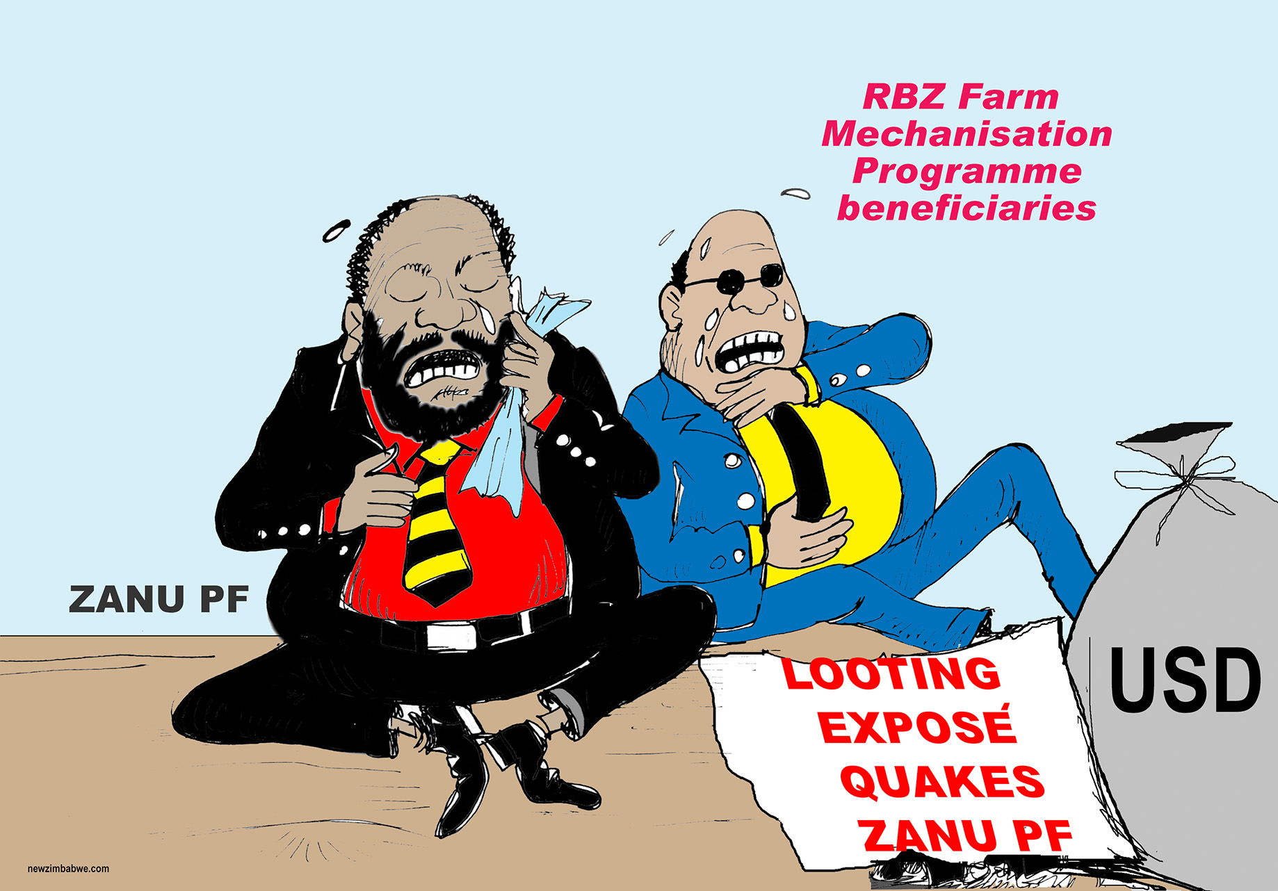 Of farm mechanisation programme and looters