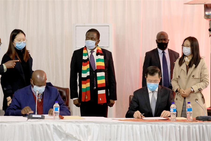 China donates medical supplies to Zim to fight Covid-19