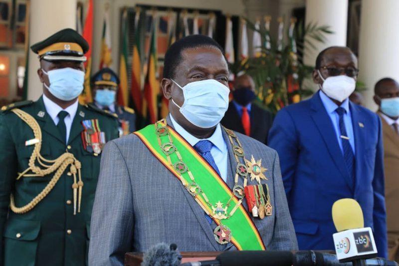 Mnangagwa Says To Raise Armed Forces' Salaries