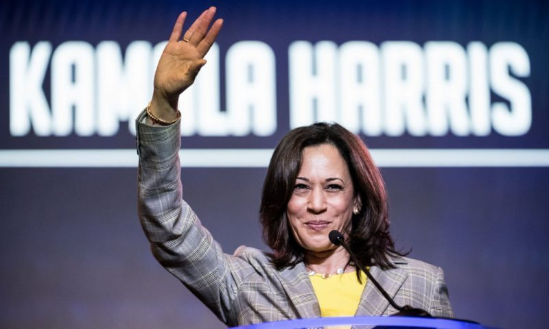 Joe Biden picks Kamala Harris as his running mate in historic first for a woman of color