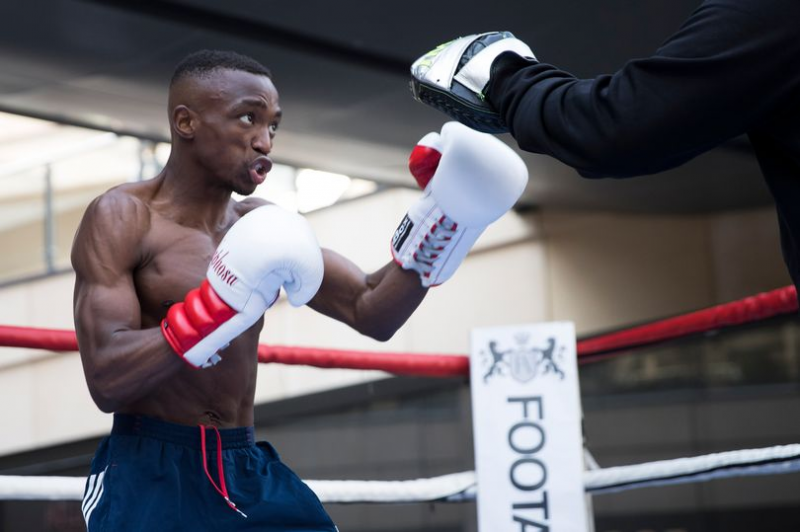 Another Zim-Born Boxing Gem Unearthed In The UK