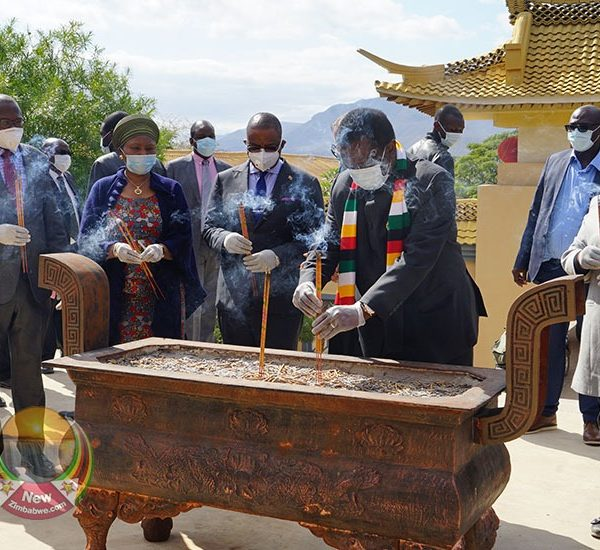 IN PICTURES: Mnangagwa's Tour Of Anjin Diamond Company In Chiadzwa