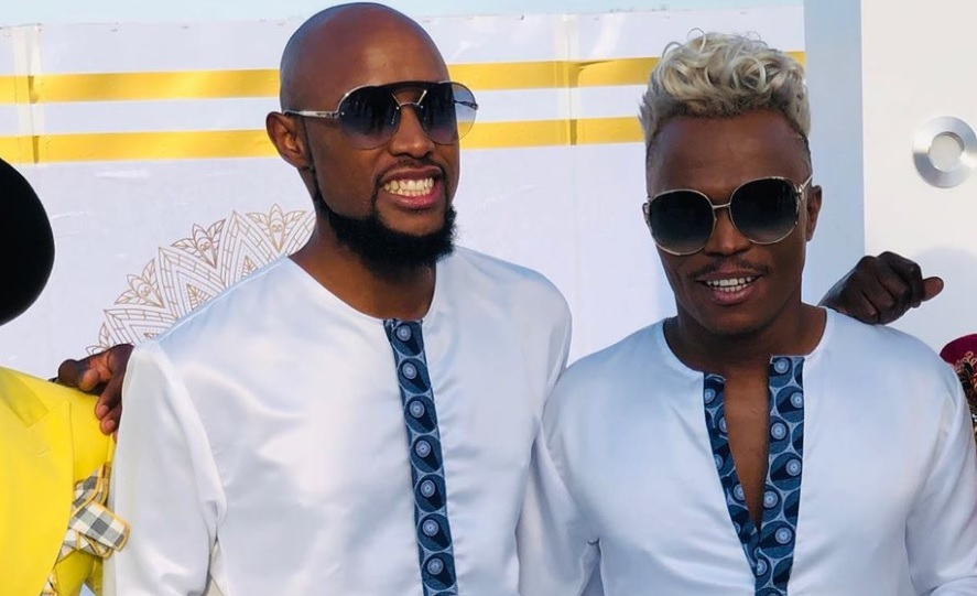Somizi freaks out over straight men hating on his gay marriage