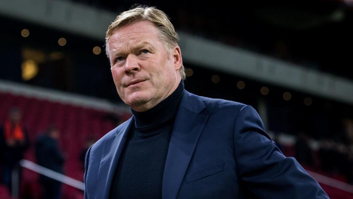 Barcelona unveils Ronald Koeman as new coach