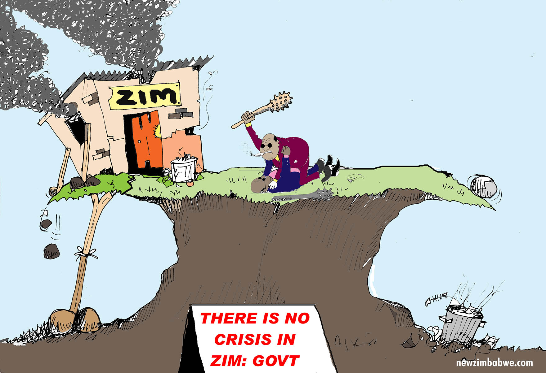 There is no crisis in Zimbabwe