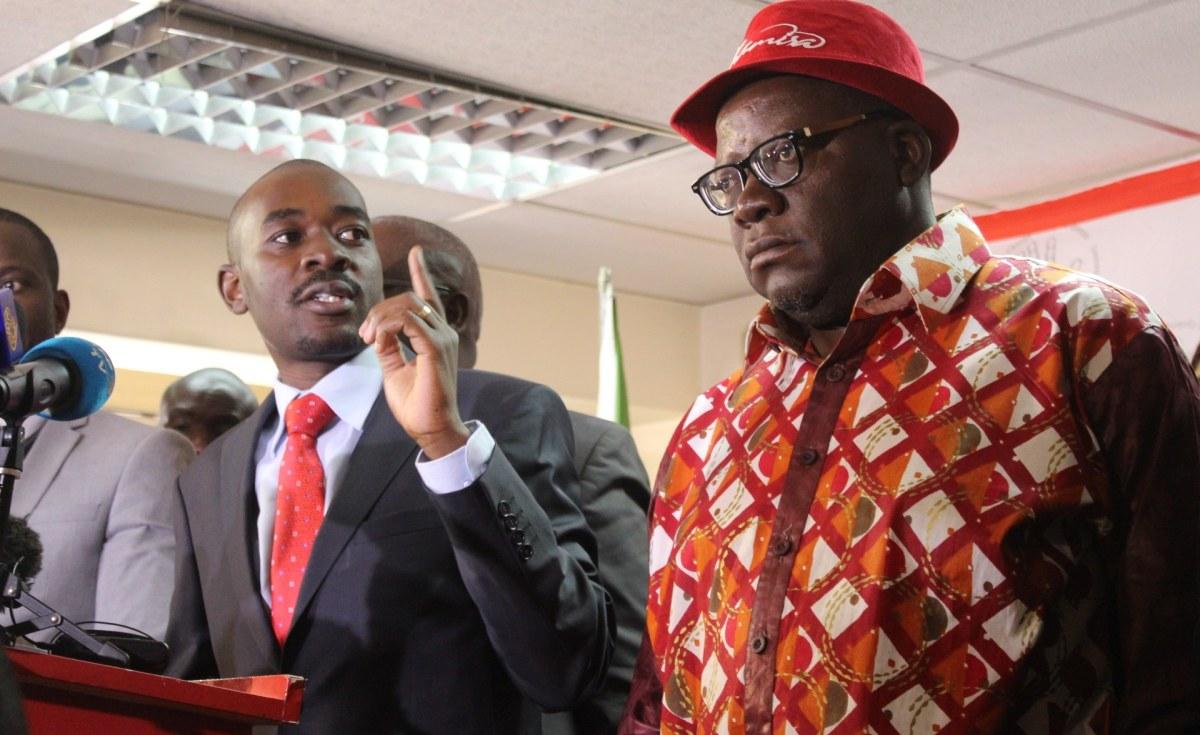 Mahere blames Zanu PF mischief for Chamisa, Biti 'tweets'