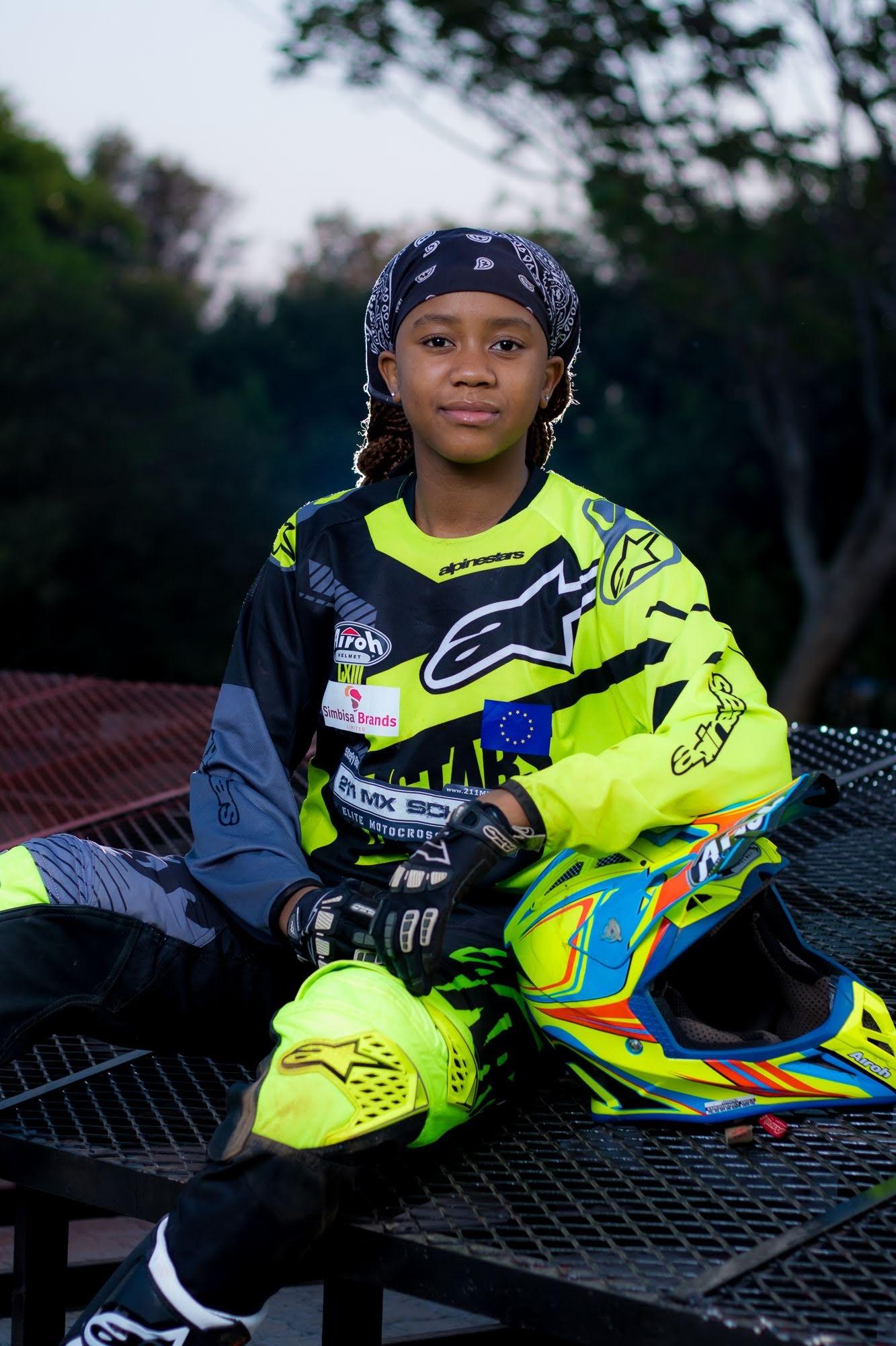 Tanya Muzinda breaking barriers in motocross