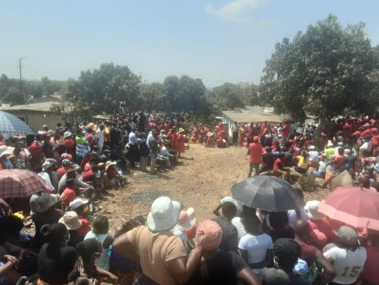 Heavy Police Presence As Murdered Karoi MDC Alliance Councillor Is Buried