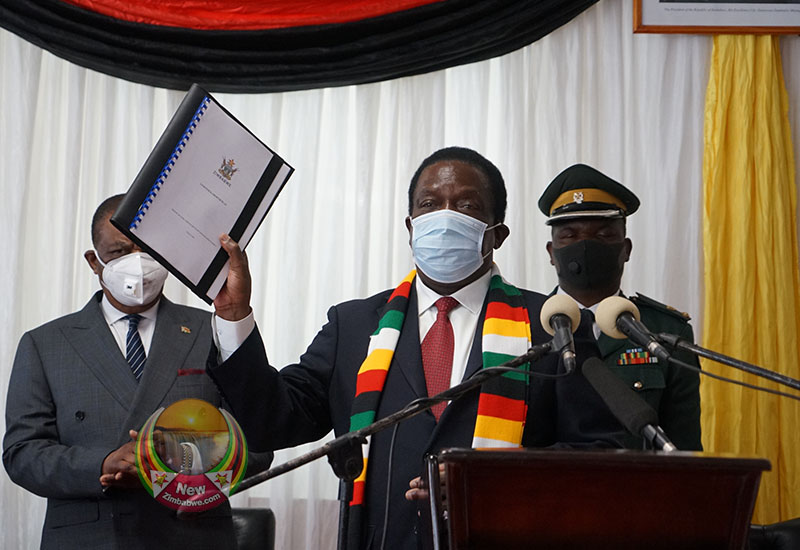 IN PICTURES: Mnangagwa Optimistic To Create US$25b Economy By 2025