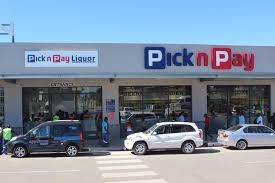 Pick n' Pay shop in albino storm