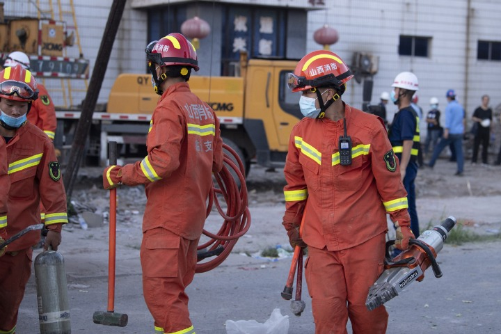 Restaurant Collapses During Birthday Party In China, Killing 29