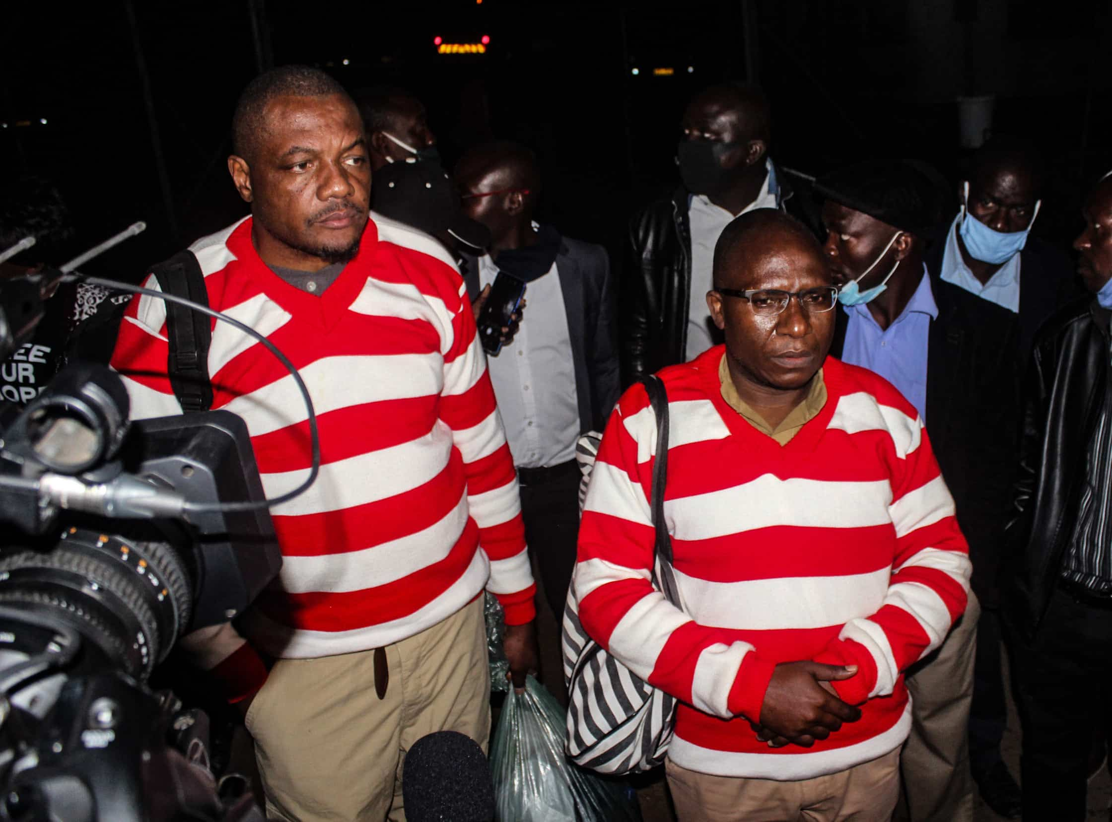 Ngarivhume speaks on jail nightmare, says Chamisa prison visit brought more woes