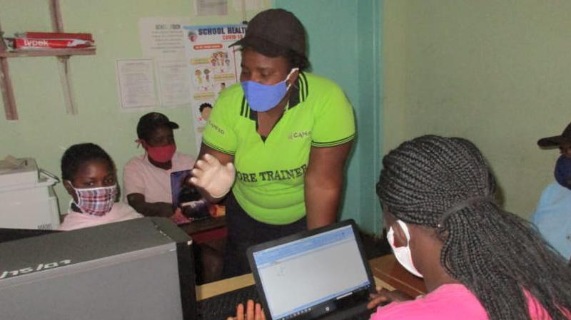 Rural Girls Learn STEM Despite Covid-19 Pandemic