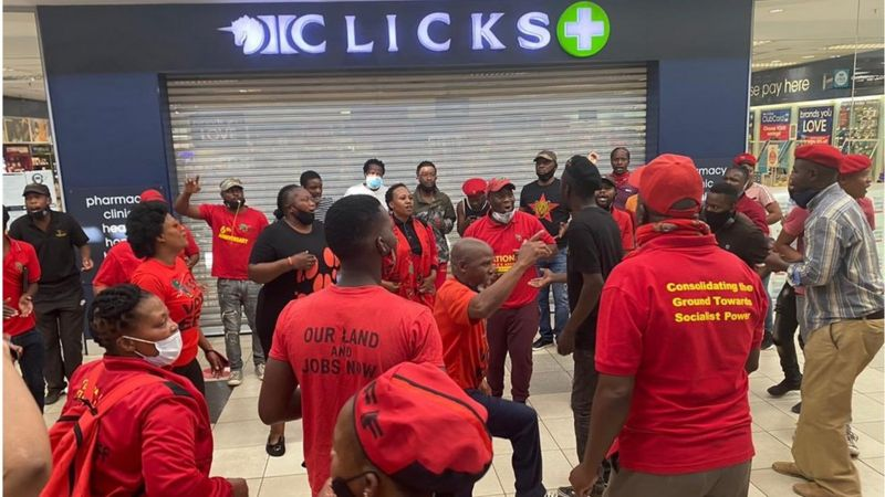 SA's Clicks Beauty Stores Raided After 'Racist' Hair Advert