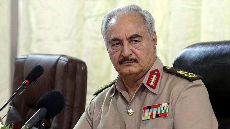 Khalifa Haftar's rival Libya government resigns after Benghazi protests